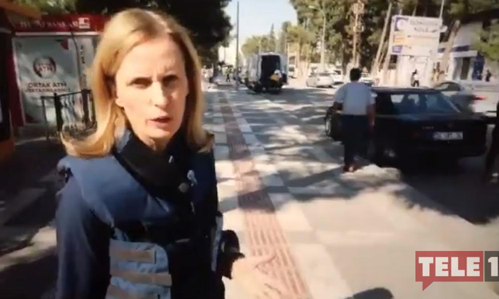Akçakale'de BBC muhabire müdahale: Gösterme olayları