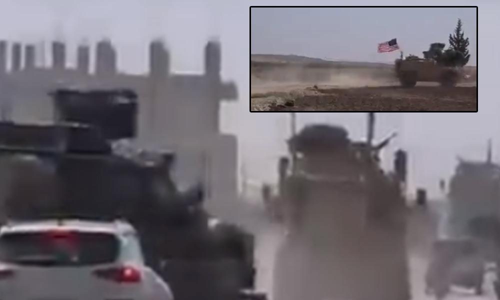 ABD'nin zırhlı araçları Türkiye'ye karşı Kobani'de devriye atmaya başladı