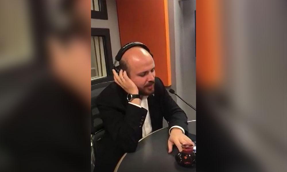 Bilal Erdoğan radyo programında Türk sanat müziği söyledi