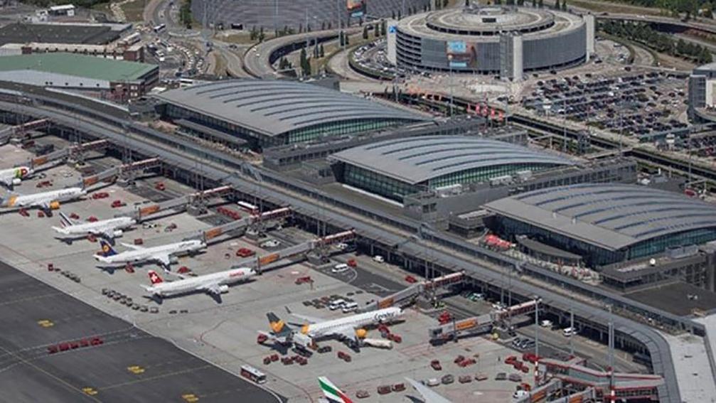 Hamburg Havalimanı'nda 2. Dünya Savaşı'ndan kalma 450 kilogram bomba bulundu