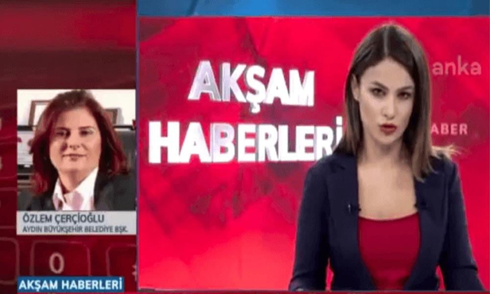 Canlı yayında o anları anlatan Çerçioğlu, Mustafa Savaş'a sert tepki gösterdi