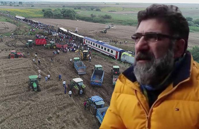 Gazeteci Mustafa Hoş'a, Çorlu'daki tren kazasına ilişkin haberleri nedeniyle dava!
