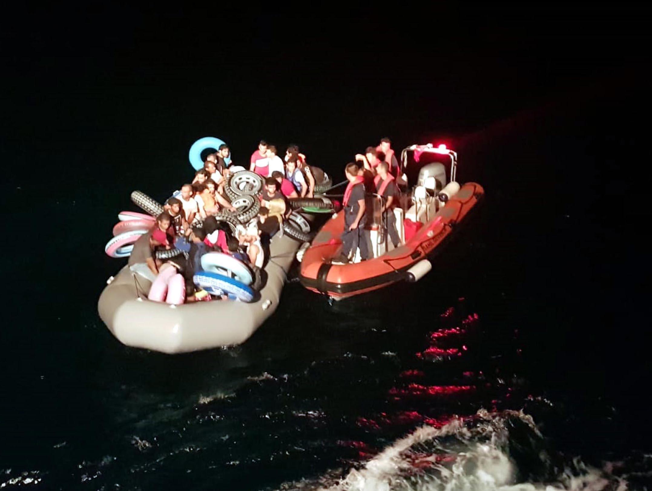 Ege Denizi'nde 9 ayda 36 bin 600 kaçak göçmen yakalandı