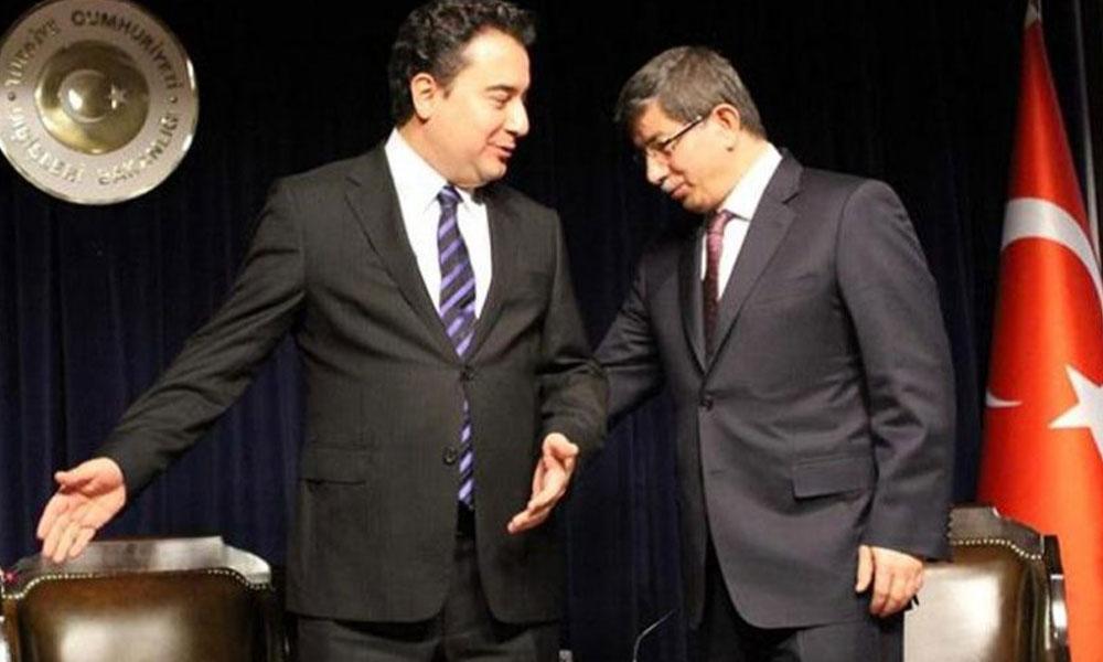 Davutoğlu'nun kurmayı oy oranını açıkladı, Babacan'nın partisine göz kırptı