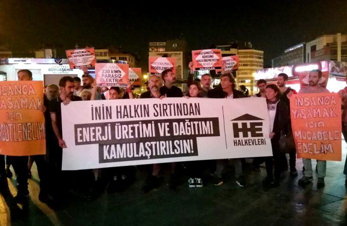 Elektrik zamlarına tepki dinmiyor! Beş ilde protesto ettiler…