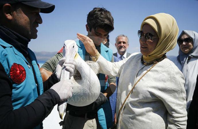 Emine Erdoğan: Çevre bilinci, doğayı bir bütün olarak görmektir