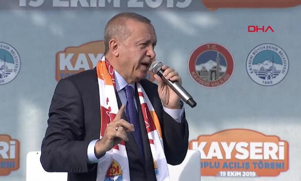 Cumhurbaşkanı Erdoğan: 120 saatin bittiği dakika kaldığımız yerden devam ederiz