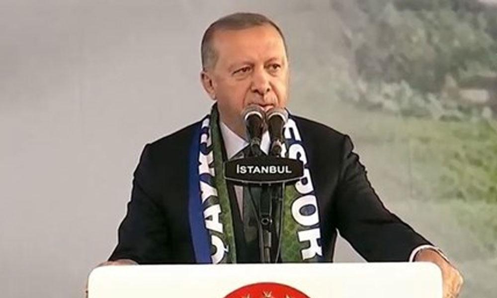 Erdoğan: İnanın bu sigara haramdır, Diyanet İşleri Başkanımız da söyledi
