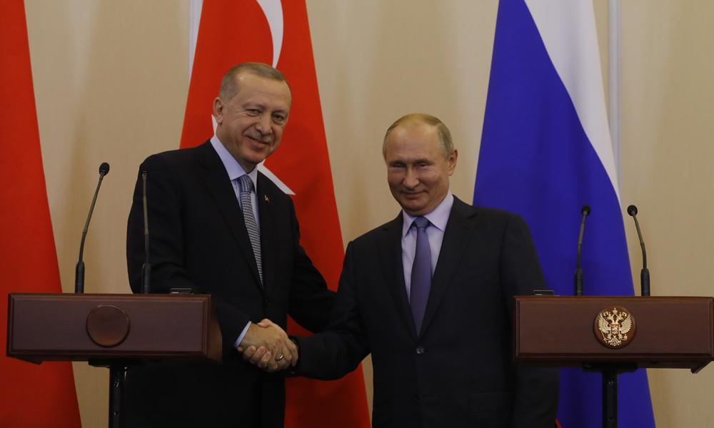 Soçi'de kritik zirve sona erdi! Putin ve Erdoğan'dan açıklama…