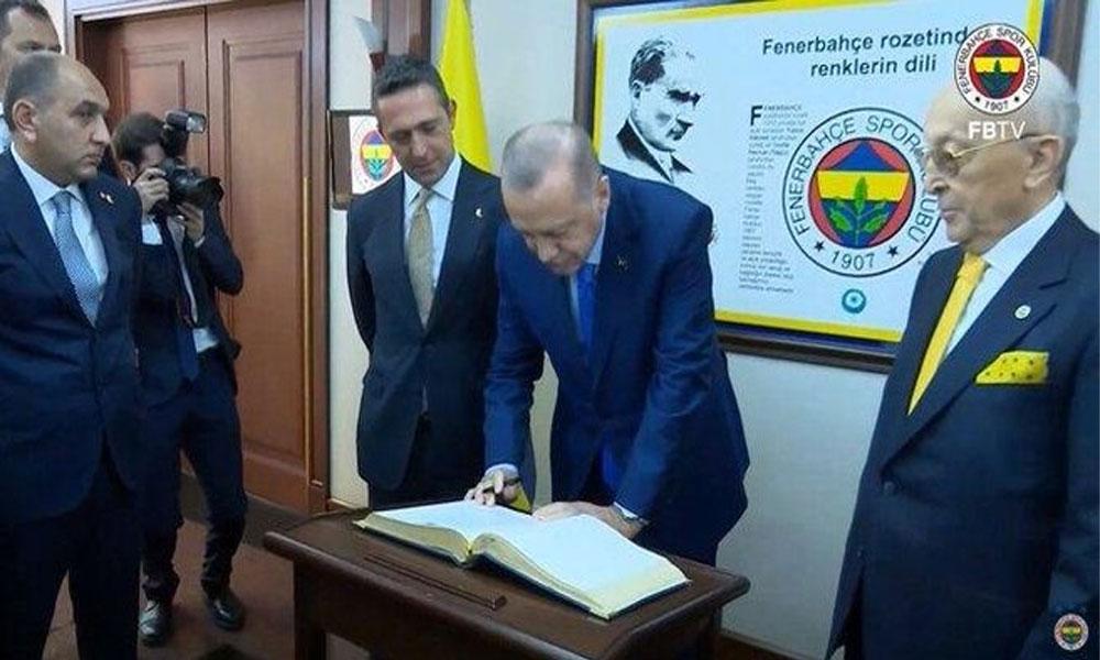 Fenerbahçe'nin divan toplantısında Erdoğan'a şok sözler!