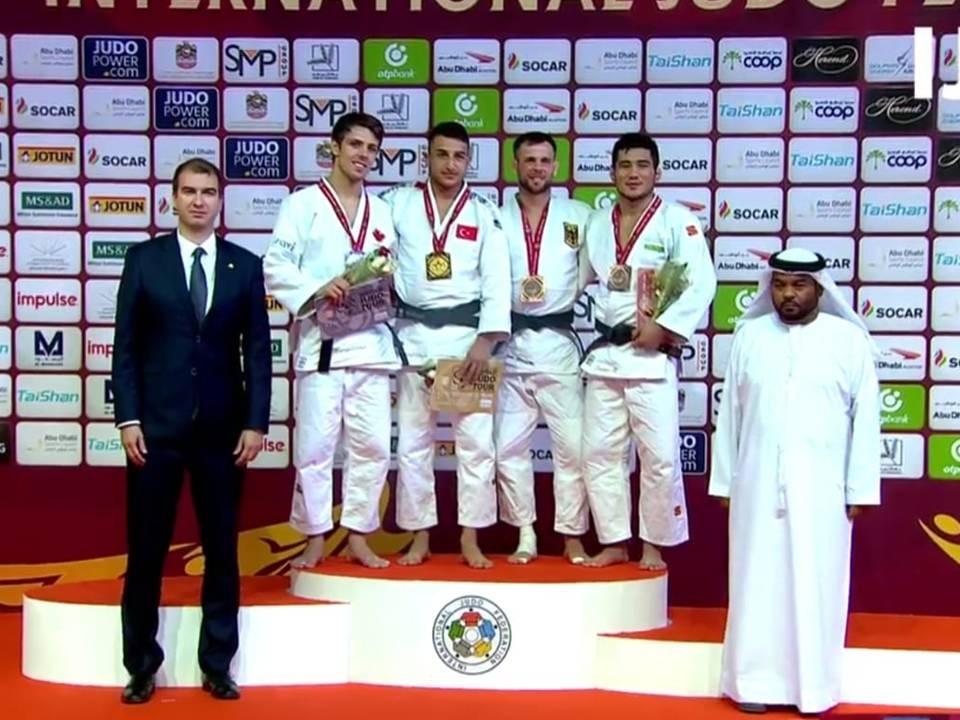 Milli judocular Bilal Çiloğlu'dan altın, Vedat Albayrak'tan bronz madalya