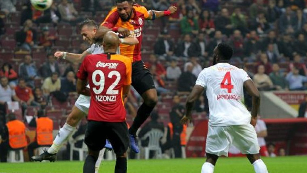 Galatasaray-Sivasspor mücadelesinde 5 gol