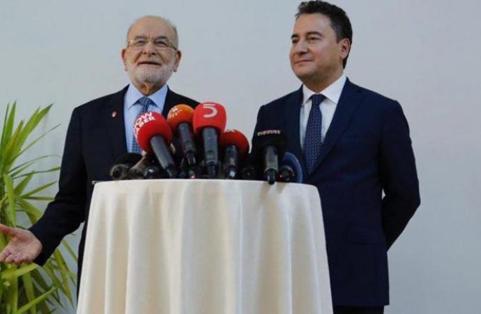 Yeni parti hazırlığı öncesi Babacan Karamollaoğlu görüşmesinden ilk açıklama