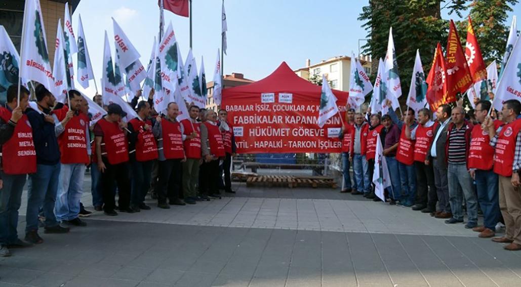 Yüzlerce işçi açlık grevine başladı!