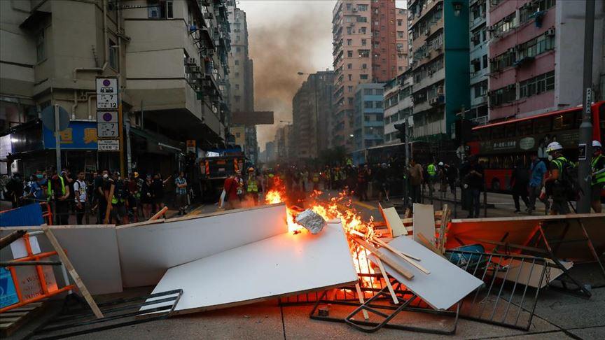 Hong Kong ekonomisi, ABD- Çin arasındaki ticaret savaşlarının etkisiyle teknik resesyona girdi