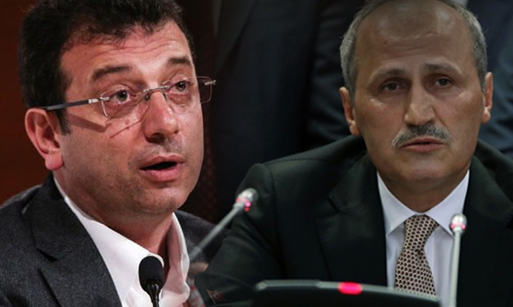 İmamoğlu'ndan Bakan Turhan'a: Bence kendi kabineniz ve partinizde bulunan birçok insan bu sözlerinizden utandı
