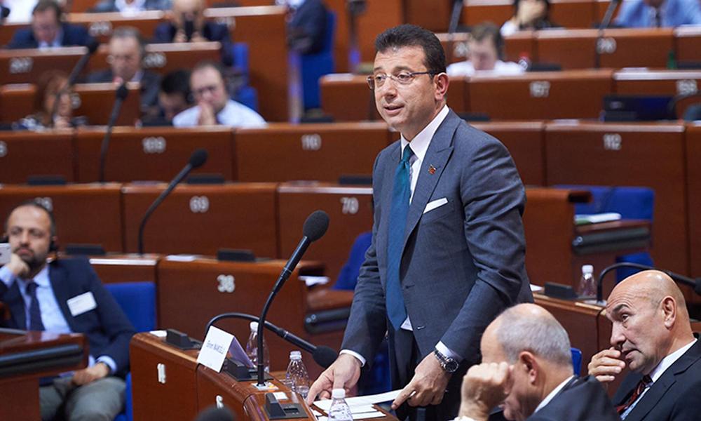 İmamoğlu Strasburg'da konuştu: Kayyım konusundaki uygulamaya karşıyım… Nokta