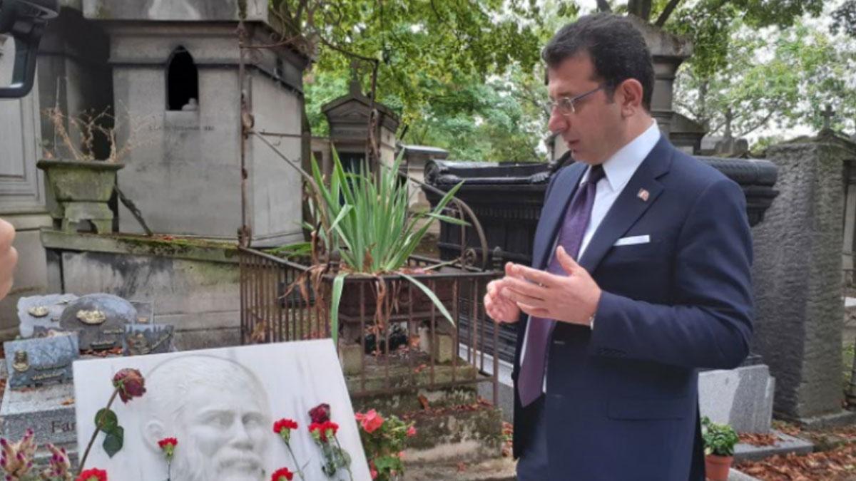 Ekrem İmamoğlu'ndan Ahmet Kaya ve Yılmaz Güney'e ziyaret
