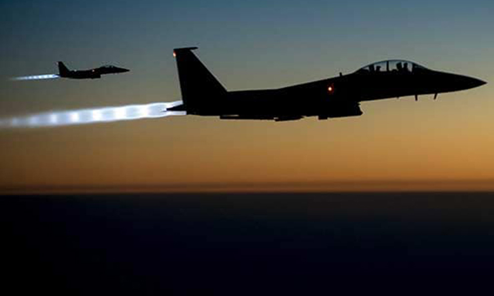 """""""Gece saatlerinde Suriye-Irak sınırındaki geçiş noktaları vuruldu"""""""