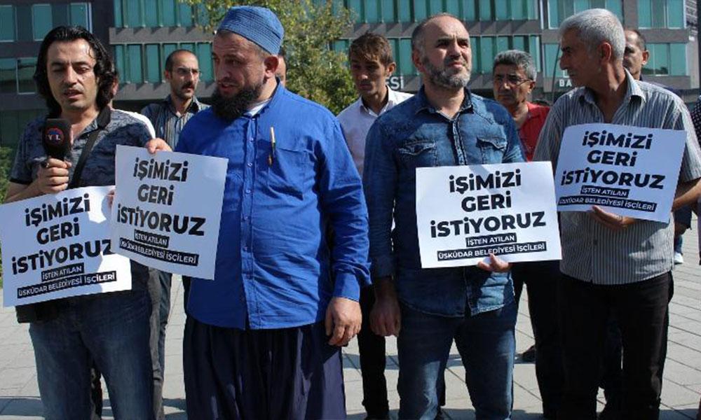 AKP'li belediyenin işten çıkardığı işçiler isyan etti! Ya yalaka ya hırsız olacaksın!