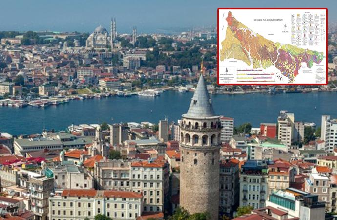 Evinizin zemini nasıl? İşte mahalle mahalle İstanbul'un jeoloji haritası