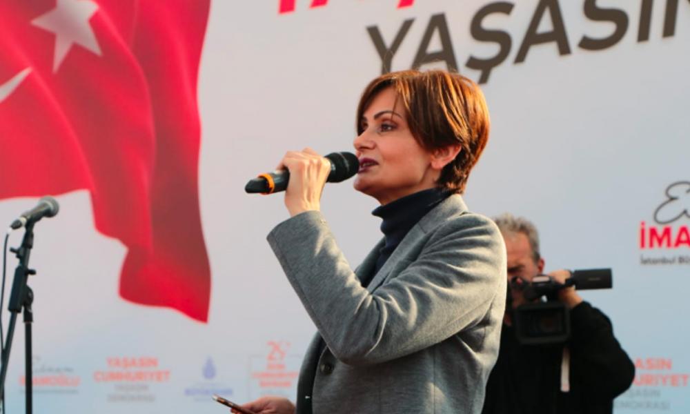 CHP İl Başkanı Kaftancıoğlu: Cumhuriyet her zaman söylediğim gibi kimsesizlerin kimsesidir