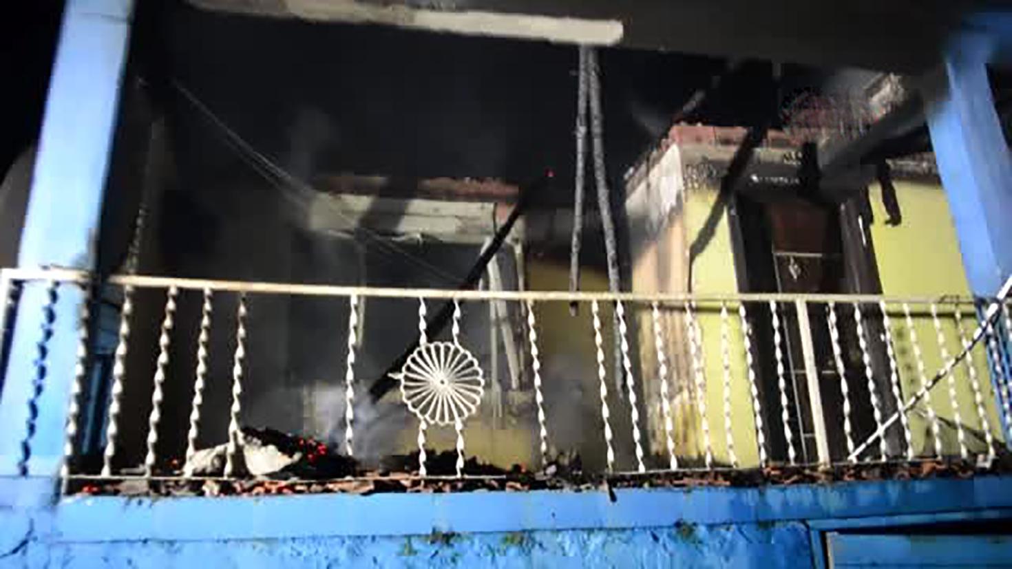 Manisa'da cinayet ve kundaklama: 1 ölü, 1 yaralı