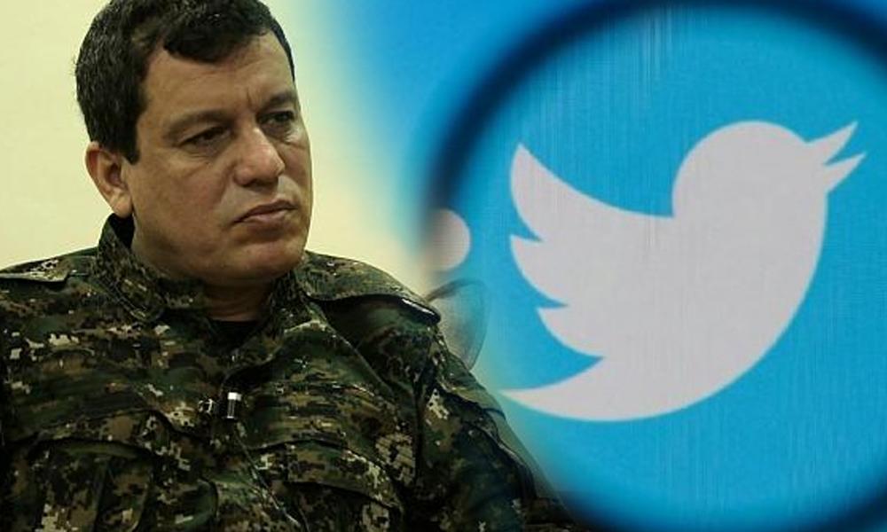 Türkiye'nin kırmızı bültenle aradığı Mazlum Kobani'ye Twitter'dan 'mavi tik'