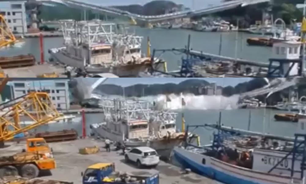 21 yıllık köprü çöktü: Otobüs denize düştü, 10 kişi yaralandı, altı kişi kayıp… İşte o anlar!