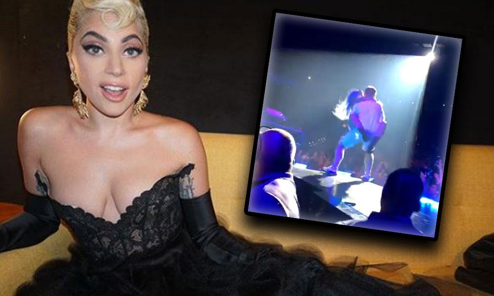Lady Gaga'nın kucak dansı şovu kötü bitti
