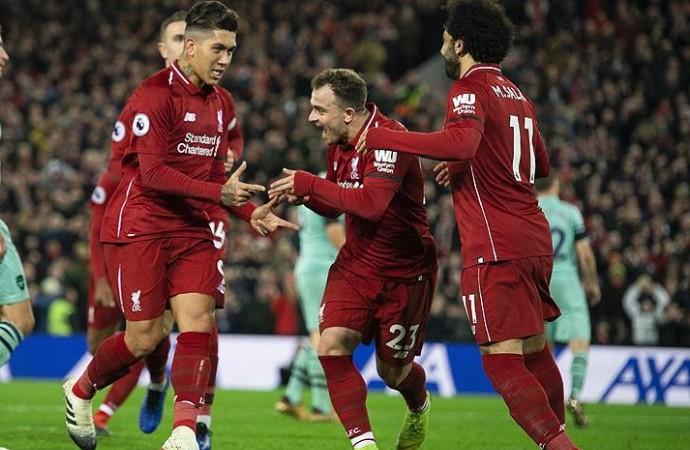 Liverpool ile Arsenal maçı tarihe geçti! 90 dakikada 10 gol