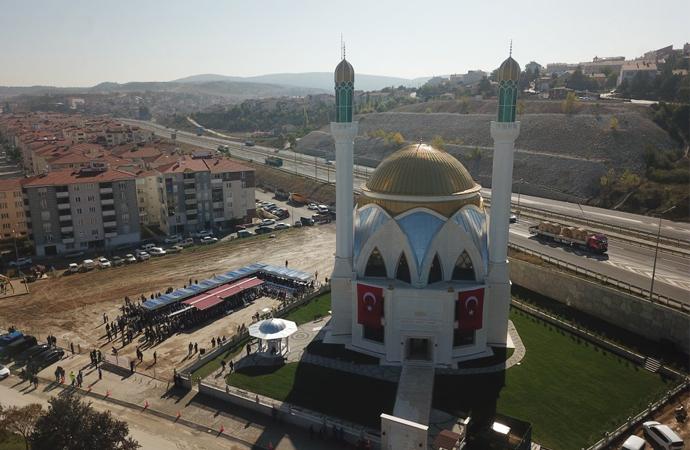 Bozüyük Kuveyt Camii hizmete açıldı