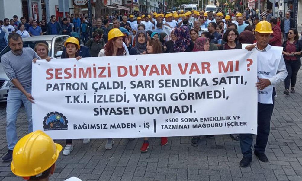 Madencilerin direnişi 7. gününde… 'Haklarımızın ödeneceği sözünü aldık'