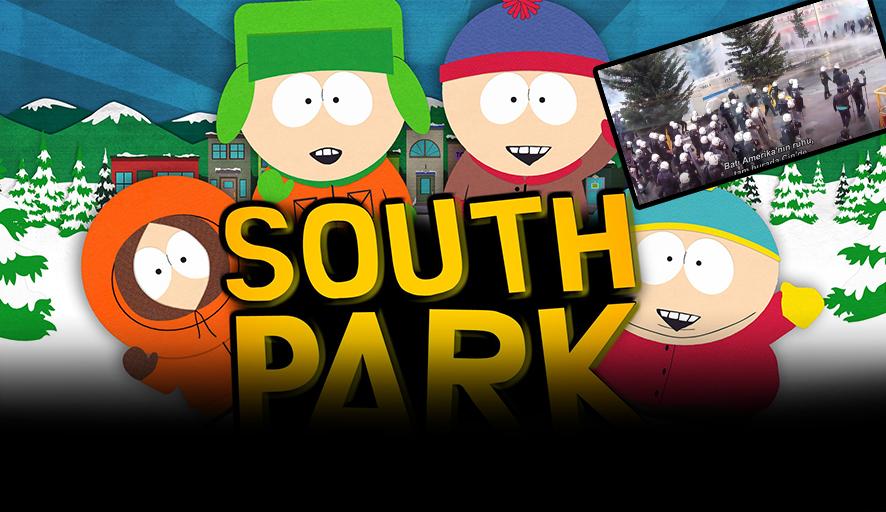 Birçok alanda ödüllü 'South Park' dizisi, son bölümünde Türkiye'deki polis devletini böyle eleştirdi