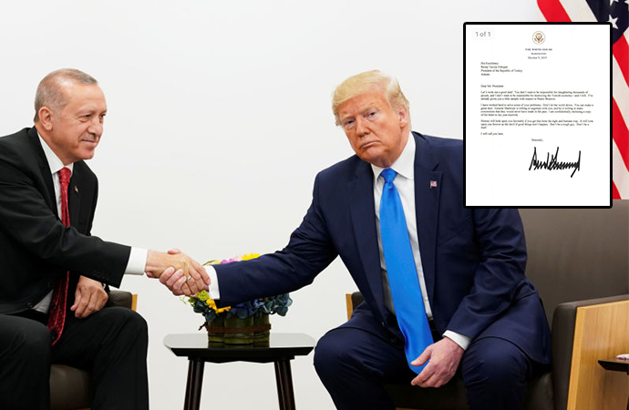 Beyaz Saray, 'Trump'ın Erdoğan'a yazdığı' mektubu doğruladı: 'Sert adamı oynama, ahmak olma!'