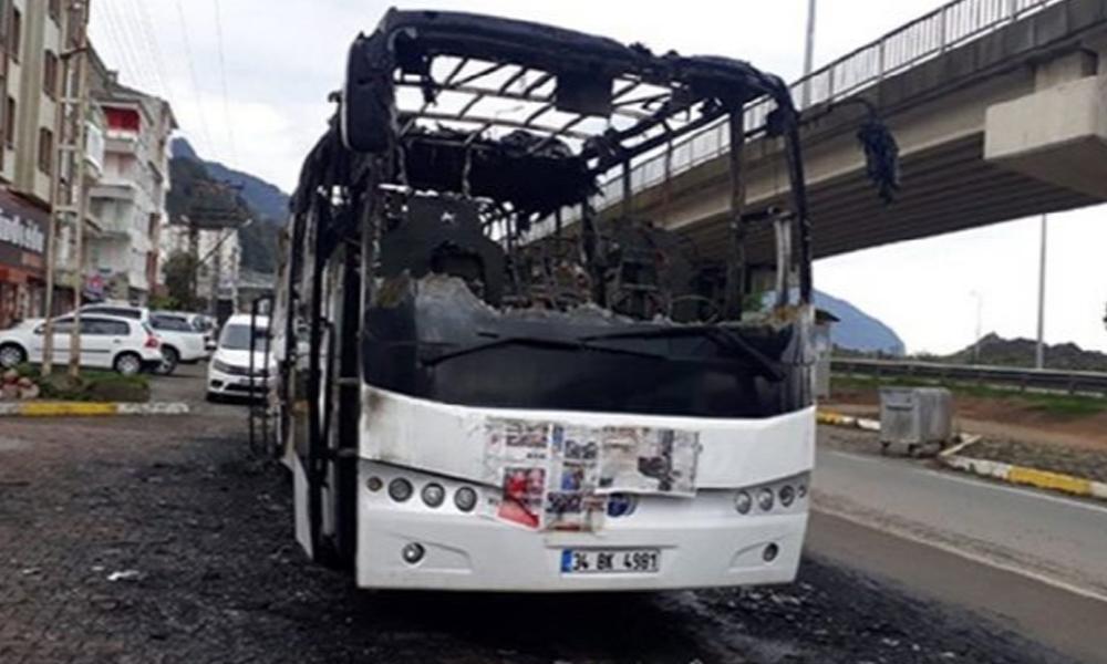 Metro Turizm'in otobüsü yanınca, logosu kapatıldı