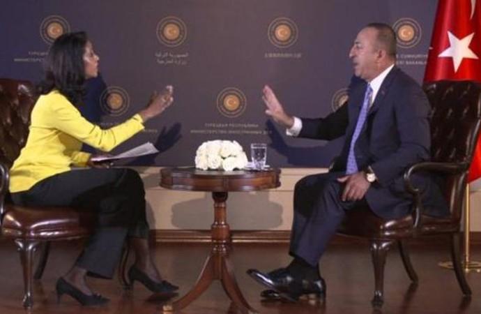 Çavuşoğlu: Rusya, YPG unsurlarını Suriye ordusu eşliğinde çıkartırsa buna karşı çıkmayız