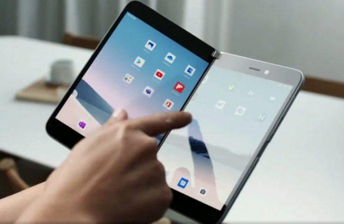 Microsoft Surface Duo : Katlanabilir çift ekranlı telefon