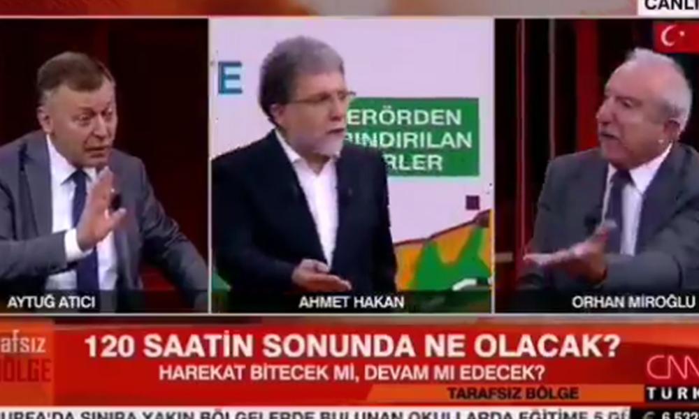Canlı yayında gergin anlar… AKP'li Miroğlu 'faşistlerle bir daha oturtmayın' diyerek canlı yayını terk etti