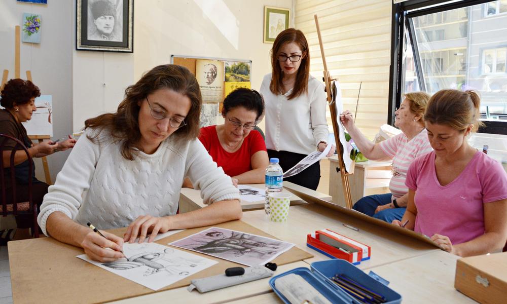 Mudanya'da 'yaşam boyu eğitim' sürüyor