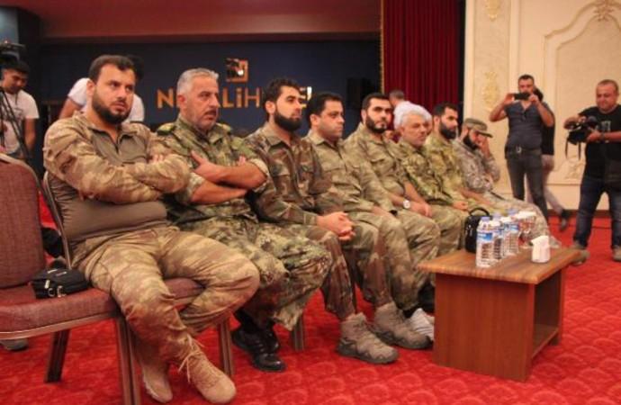 Cihatçı ÖSO tek çatı altında birleşti; olası operasyonda Türk askeri ÖSO ile birlikte hareket edecek