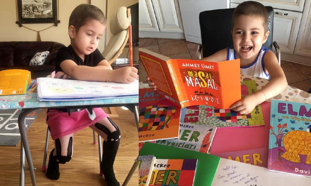 Öykü Arin için gönüllü öğretmenler aranıyor