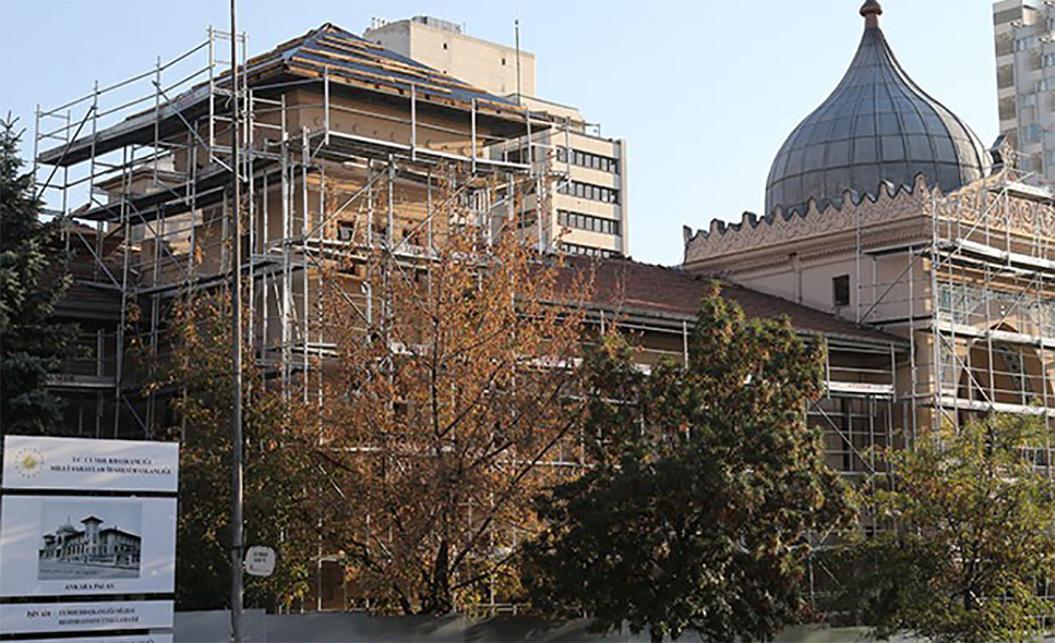 'Saray'a devredilen Ankara Palas, 'Cumhurbaşkanlığı Müzesi' oluyor