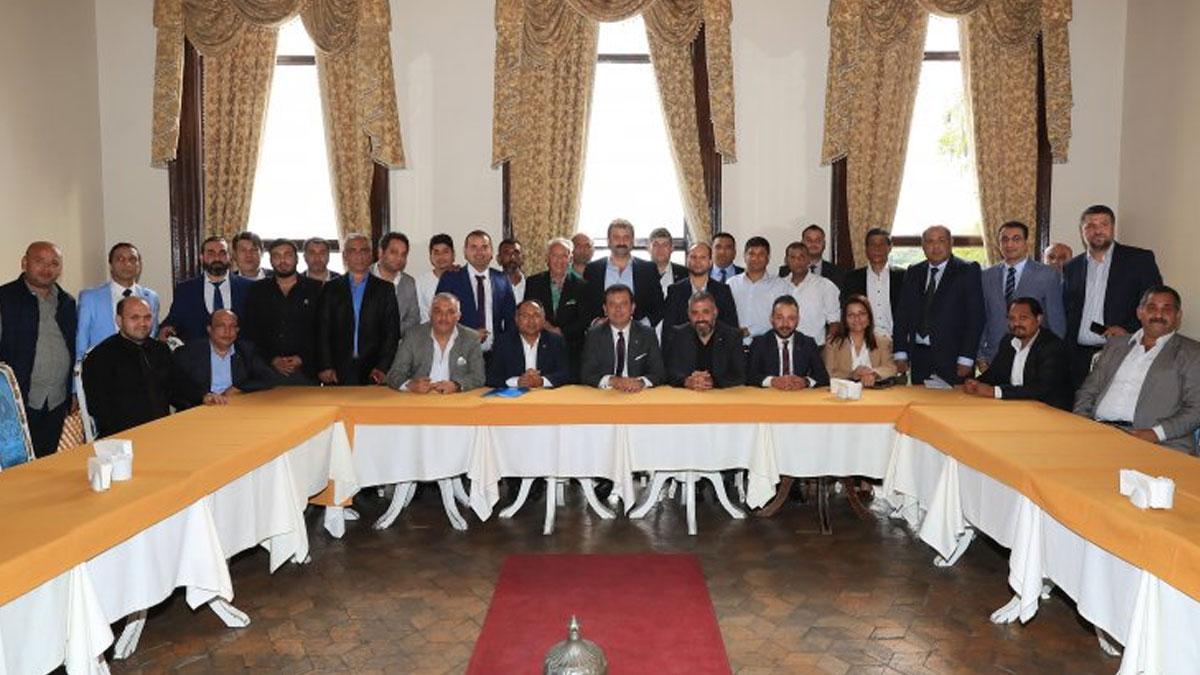 CHP'li Purçu, Romanların sorunlarını görüşmek için İmamoğlu'nu ziyaret etti