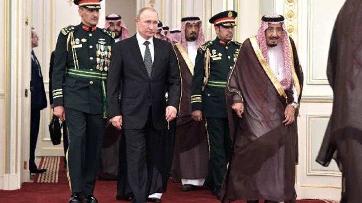 Putin, Suudi Arabistan'da… Ekonomik anlaşmaların imzalanması bekleniyor