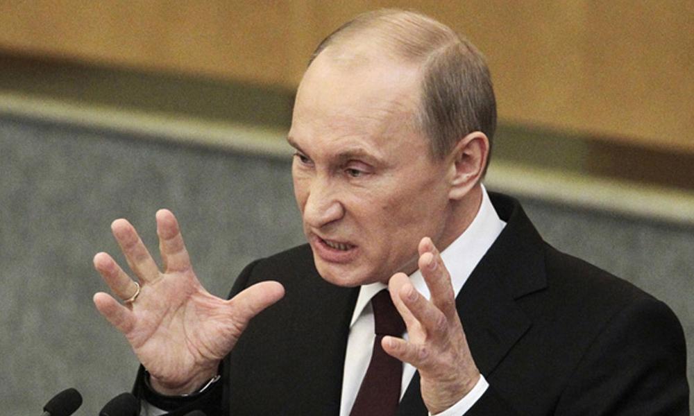 Putin'den çok sert çıkış: 'Yahudi karşıtı domuz'