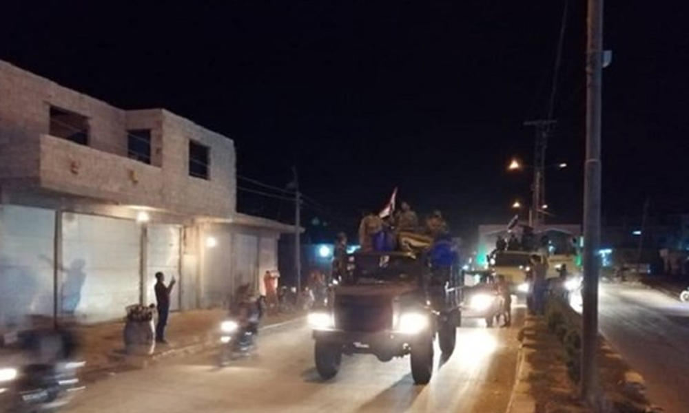 Suriye ordusu Kobani'ye girdi