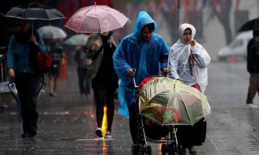 Meteoroloji'den illere sağanak yağış uyarısı!