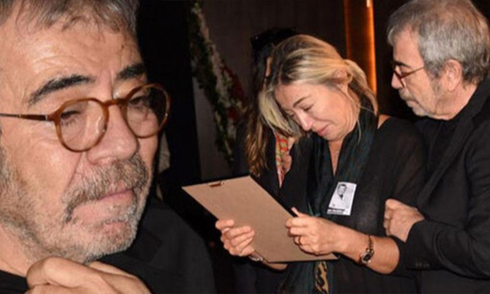 Tarık Ünlüoğlu'nun cenaze töreninde Selçuk Yöntem'in parası çalındı