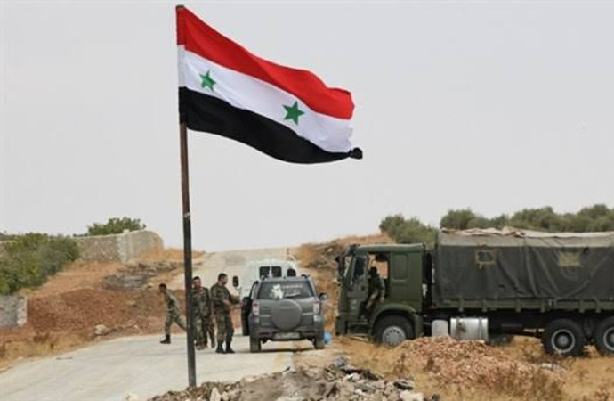 Suriye ordusu ülkenin kuzeydoğusundaki bir petrol sahasına girdi